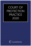 Court of Protection Practice (with CD-ROM) 2020 cover