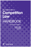 Butterworths Competition Law Handbook 26th edition cover