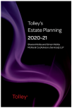 Tolley's Estate Planning 2020-21 (Part of the Tolley's Tax Planning Series) cover
