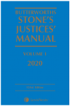 Butterworths Stone's Justices' Manual 2020 cover