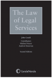 The Law of Legal Services Second edition cover
