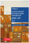 Tolley's Customs and Excise Duties Handbook 2019-2020 cover