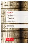 Tolley's Tax Data 2017-18 (Budget edition) cover