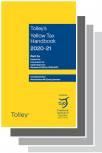 Tolley's Yellow and Orange Tax Reference 2020-21 Set cover