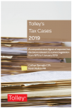 Tolley's Tax Cases 2019 cover