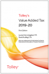 Tolley's Value Added Tax 2019-20 (includes First and Second editions) cover