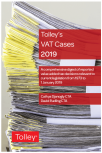 Tolley's VAT Cases 2019 cover