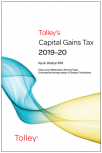 Tolley's Capital Gains Tax 2019-20 Main Annual cover