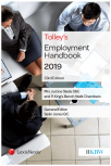 Tolley's Employment Handbook 33rd edition cover