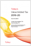 Tolley's Value Added Tax 2019-2020 (Second edition only) cover