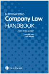 Butterworths Company Law Handbook 33rd edition cover