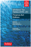 Whillans Tax Tables 2019-20 (Finance Act edition) cover