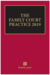 The Family Court Practice 2019 (Red Book) cover