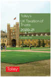 Tolley's UK Taxation of Trusts 2020-2021 cover
