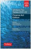 Whillans Tax Tables 2021-22 (Finance Act edition) cover