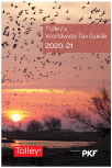 Tolley's Worldwide Tax Guide 2020-21 cover