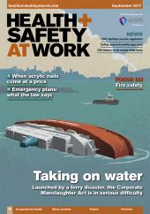 Health and Safety at Work Magazine cover