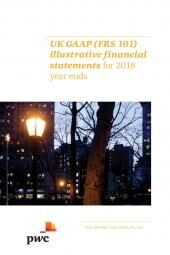 UK GAAP (FRS 101) illustrative financial statements for 2018 year ends cover