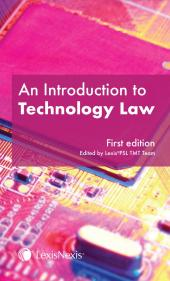 An Introduction to Technology Law cover