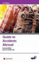APIL Guide to Accidents Abroad Second Edition cover