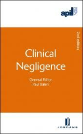 APIL Clinical Negligence Second edition img