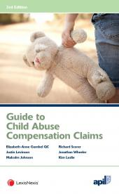 APIL Guide to Child Abuse Compensation Claims Third edition cover