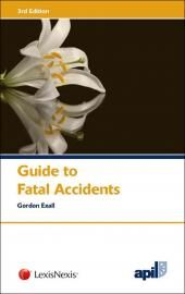 APIL Guide to Fatal Accidents 3rd edition cover