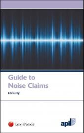 APIL Guide to Noise Claims cover