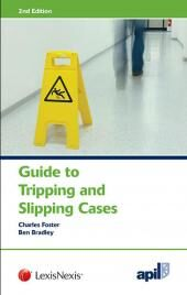 APIL Guide to Tripping and Slipping Cases Second edition cover