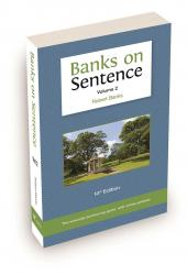 Banks on Sentence Volume 2 cover