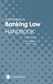 Butterworths Banking Law Handbook Ninth edition cover