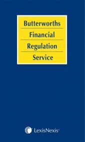 Butterworths Financial Regulation Service: Volume 1 & 2 cover