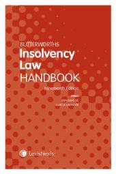 Butterworths Insolvency Law Handbook 19ed (Print and eBook) cover