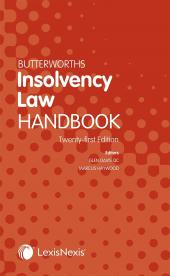 Butterworths Insolvency Law Handbook 21st edition cover
