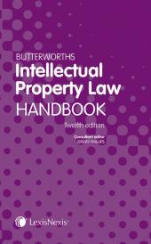 Butterworths Intellectual Property Law Handbook 12ed (Print and eBook) img