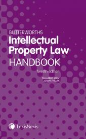 Butterworths Intellectual Property Law Handbook 13th edition eBook cover