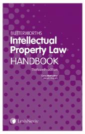 Butterworths Intellectual Property Law Handbook 13th edition cover