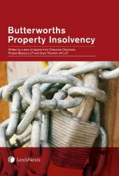 Butterworths Property Insolvency cover