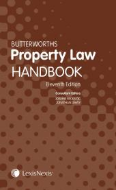 Butterworths Property Law Handbook 10ed eBook cover