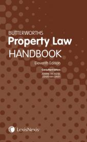 Butterworths Property Law Handbook Tenth edition cover