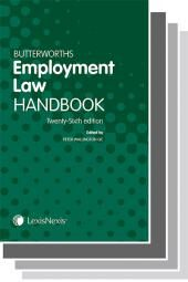 Butterworths Employment Law Handbook 25th edition & Tolley's Employment Handbook 31st edition Set cover