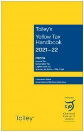 Tolley's Yellow Tax Handbook 2021-22 cover