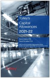 Tolley's Capital Allowances 2021-22 cover