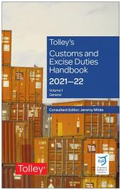 Tolley's Customs and Excise Duties Handbook 2021-2022 cover