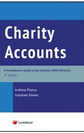 Charity Accounts: A Practitioner's Guide to the Charities SORP Fifth edition & CD-Rom cover