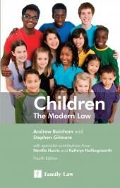 Children: The Modern Law 4th edition cover