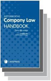 Butterworths Company Law Handbook 35th edition & Tolley's Company Law Handbook Handbook 29th edition cover