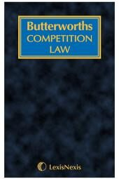 Butterworths Competition Law Service cover