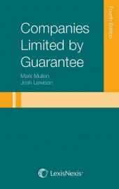 Companies Limited by Guarantee Fourth edition cover