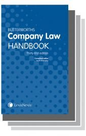 Butterworths Company Law Handbook 31st edition and Company Secretary's Handbook 27th edition & Tolley's Company Law Handbook 25th edition cover